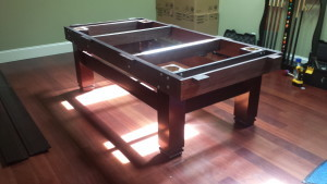 Correctly performing pool table installations, Charlotte North Carolina